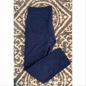 Loft cobalt modern skinny pants